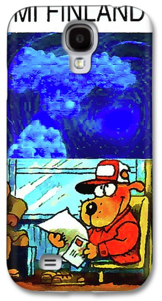 Animation Galaxy S4 Cases - Dog Hill Kids Galaxy S4 Case by Lanjee Chee