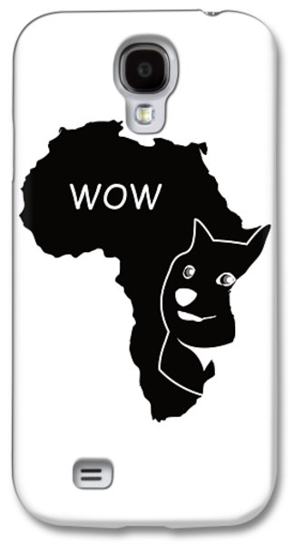 Dogecoin In Africa Galaxy S4 Case by Michael Jordan
