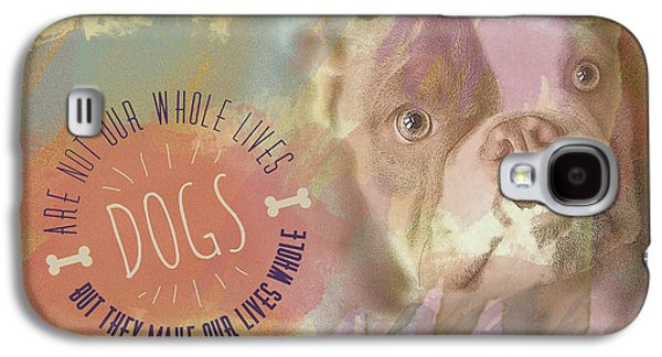 Boxer Galaxy S4 Cases - Dogs Galaxy S4 Case by Joye Ardyn Durham