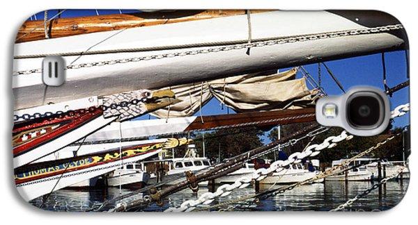 Boats At Dock Galaxy S4 Cases - Dogwood Harbor Galaxy S4 Case by Thomas R Fletcher