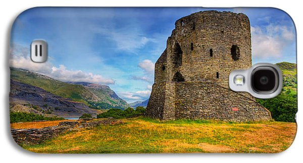 Hdr Landscape Galaxy S4 Cases - Dolbadarn Castle  Galaxy S4 Case by Adrian Evans