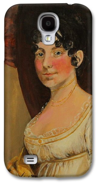 Dolley Galaxy S4 Cases - Dolley Madison Galaxy S4 Case by Jan Mecklenburg