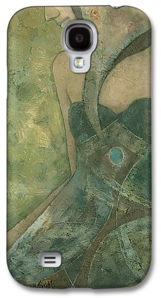 Original Mixed Media Galaxy S4 Cases - Dolores Galaxy S4 Case by Steve Mitchell
