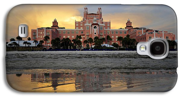 Fine Art Photography Galaxy S4 Cases - Don Cesar reflection Galaxy S4 Case by David Lee Thompson