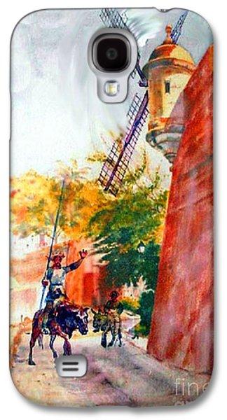 Don Quixote In San Juan Galaxy S4 Case by Estela Robles