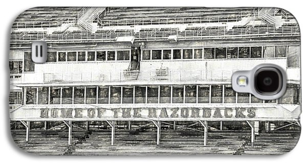 Donald W. Reynolds Razorback Stadium Galaxy S4 Case by JC Findley