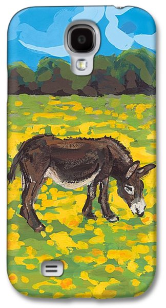 Donkey And Buttercup Field Galaxy S4 Case by Sarah Gillard