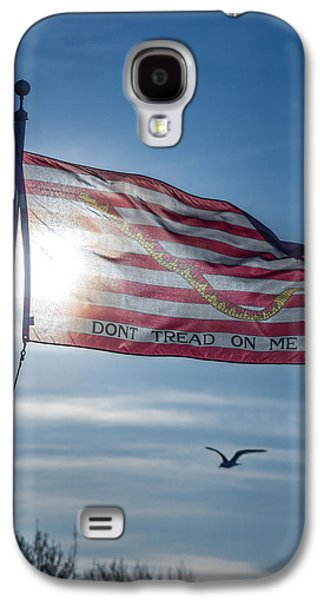 America First Party Galaxy S4 Cases - Dont Tread On Me Galaxy S4 Case by Chris Bordeleau