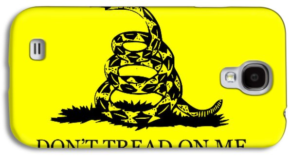 Don't Tread On Me Flag Galaxy S4 Case by War Is Hell Store