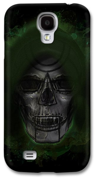 Creepy Galaxy S4 Cases - Doom MD Galaxy S4 Case by Ian Barefoot