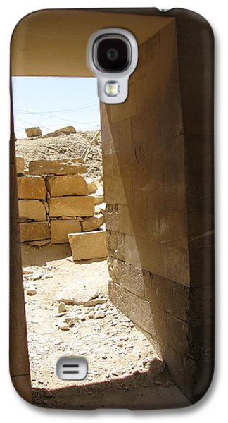 Ancient Galaxy S4 Cases - Doorway Saqqara Galaxy S4 Case by Patricia Russell