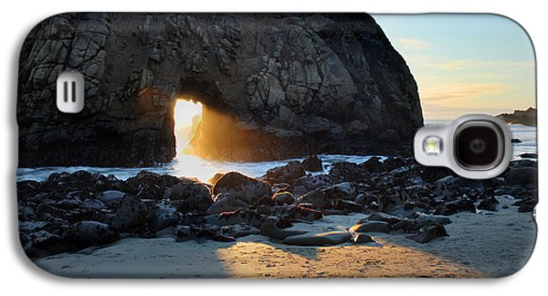 Big Sur Beach Galaxy S4 Cases - Doorway to heaven in Big Sur Galaxy S4 Case by Pierre Leclerc Photography