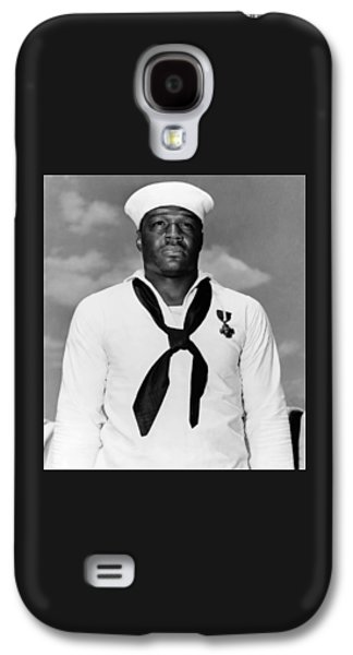 African-american Galaxy S4 Cases - Dorie Miller Galaxy S4 Case by War Is Hell Store