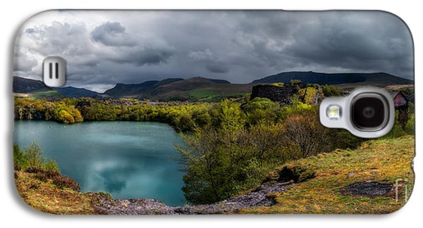 Dilapidated Digital Galaxy S4 Cases - Dorothea Quarry Panorama Galaxy S4 Case by Adrian Evans