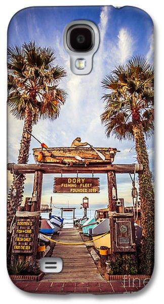 Dory Fishing Fleet Market Picture Newport Beach Galaxy S4 Case by Paul Velgos