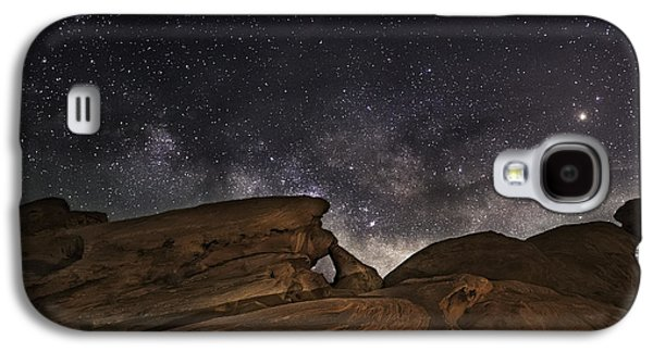 Dreamscape Galaxy S4 Cases - Double Arch - Valley of Fire Galaxy S4 Case by Tony Fuentes