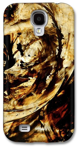 Earth Tones Galaxy S4 Cases - Double Espresso Galaxy S4 Case by Sharon Cummings