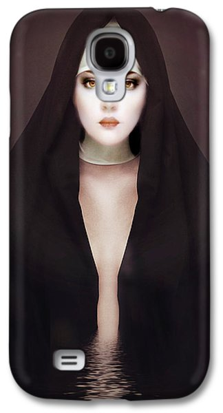 Emotion Mixed Media Galaxy S4 Cases - Doubt Galaxy S4 Case by Photodream Art