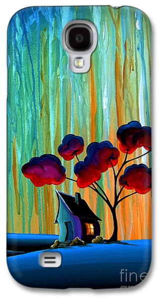 Dreamscape Galaxy S4 Cases - Down In The Valley Galaxy S4 Case by Cindy Thornton