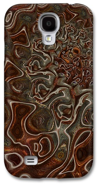 Abstract Forms Galaxy S4 Cases - Down Galaxy S4 Case by Jack Zulli