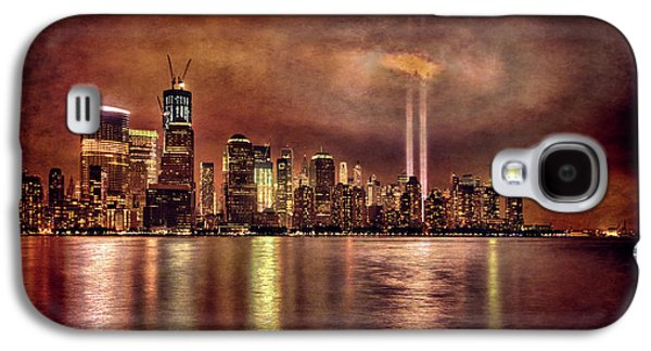Wtc 11 Galaxy S4 Cases - Downtown Manhattan September Eleventh Galaxy S4 Case by Chris Lord