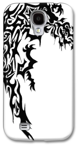 Abstract Digital Drawings Galaxy S4 Cases - Dragon Galaxy S4 Case by AR Teeter