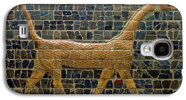 Dragon Of Marduk - On The Ishtar Gate Galaxy S4 Case by Anonymous
