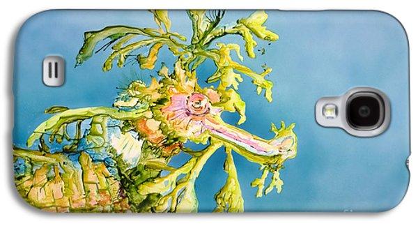 Leafy Sea Dragon Galaxy S4 Cases - Dragon of the Sea Galaxy S4 Case by Tanya L Haynes - Printscapes
