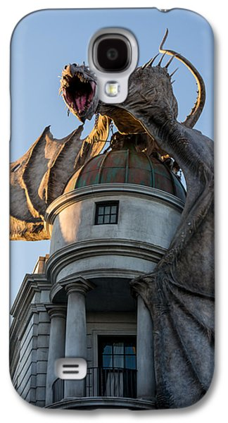 Recently Sold -  - Fantasy Photographs Galaxy S4 Cases - Dragon over Diagon Alley Galaxy S4 Case by Matthew T Ross
