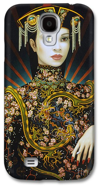 Dragon Smoke Galaxy S4 Case by Jane Whiting Chrzanoska