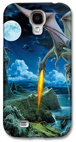 Fantasy Galaxy S4 Cases - Dragon Spit Galaxy S4 Case by The Dragon Chronicles - Robin Ko