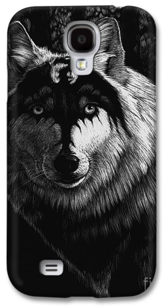 Dragon Wolf Galaxy S4 Case by Stanley Morrison