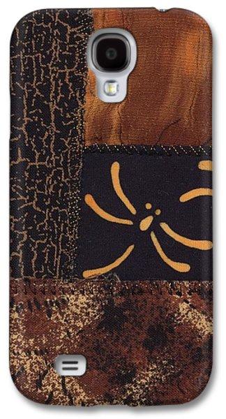 Autumn Landscape Tapestries - Textiles Galaxy S4 Cases - Dragonfly Dance Galaxy S4 Case by Linda Mae Olszanski