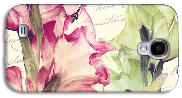 Dragonfly Morning I Galaxy S4 Case by Mindy Sommers