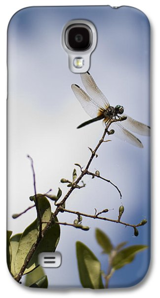 Dragon Greeting Cards Galaxy S4 Cases - Dragonfly On A Limb Galaxy S4 Case by Dustin K Ryan