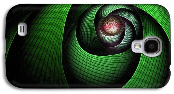 Abstract Digital Digital Art Galaxy S4 Cases - Dragons Eye Galaxy S4 Case by John Edwards