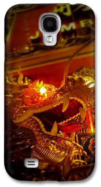 Dragon Photographs Galaxy S4 Cases - Dragons Eye Galaxy S4 Case by Loriental Photography