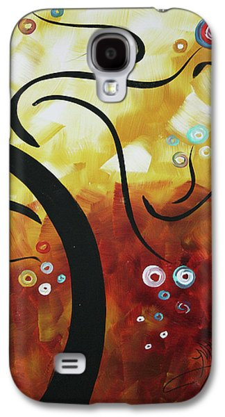Abstract Landscape Galaxy S4 Cases - Drama Unleashed 1 Galaxy S4 Case by Megan Duncanson