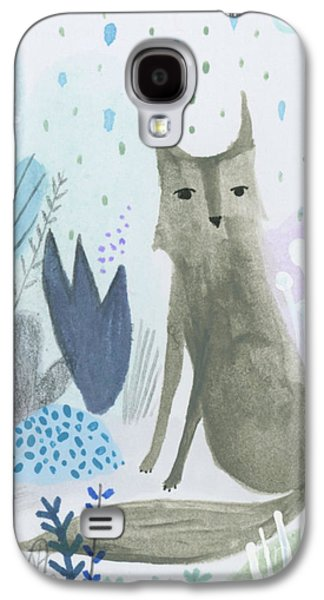 Dramatic Wolf In The Rain Galaxy S4 Case by Kate Cosgrove