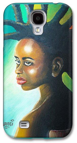 African-american Galaxy S4 Cases - Dreadlocks Rasta Galaxy S4 Case by Anthony Mwangi