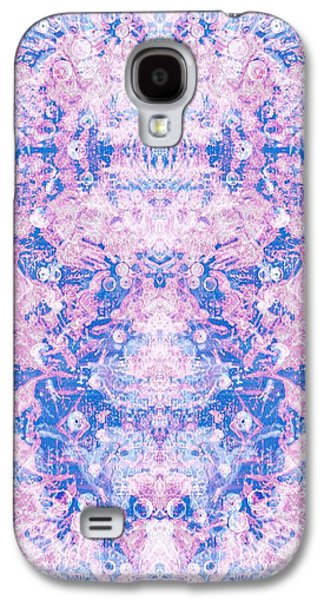 Abstract Digital Digital Art Galaxy S4 Cases - Dream Haze Galaxy S4 Case by Beth Travers