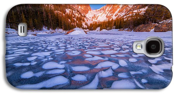 Dream Photographs Galaxy S4 Cases - Dream Lake Dimples Galaxy S4 Case by Darren  White
