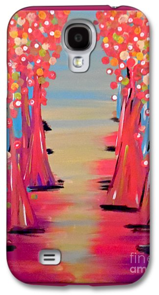 Girl Galaxy S4 Cases - Dream of Fields Galaxy S4 Case by Jilian Cramb