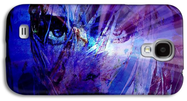 Sunset Abstract Galaxy S4 Cases - Dream Traveler Galaxy S4 Case by Richard Ray