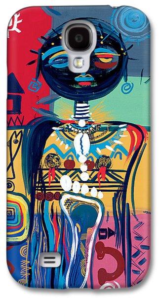 Jewellery Galaxy S4 Cases - Dreaming of Africa Galaxy S4 Case by Oglafa Ebitari Perrin