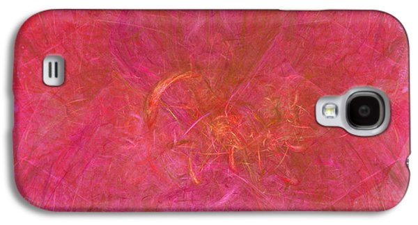 Recently Sold -  - Abstract Digital Digital Galaxy S4 Cases - Dreams of Persian Flowers Galaxy S4 Case by Diane Parnell