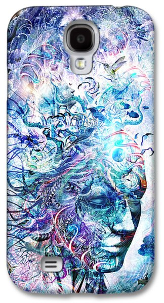 Visionary Artist Galaxy S4 Cases - Dreams Of Unity Galaxy S4 Case by Cameron Gray