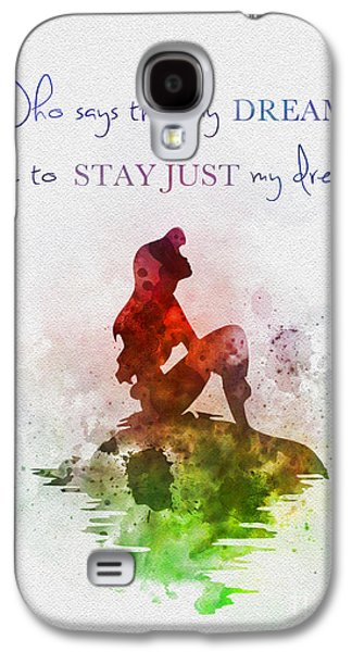 Animation Galaxy S4 Cases - Dreams Galaxy S4 Case by Rebecca Jenkins