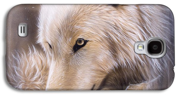 Wildlife Galaxy S4 Cases - Dreamscape - Wolf Galaxy S4 Case by Sandi Baker