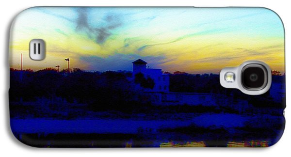 Dreamscape Galaxy S4 Cases - Dreamscape Blue Water Sunset  Galaxy S4 Case by Nada Frazier